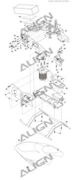 AGNHSP41003 4 AGNHSP41003 for D4BF Servo Horn Set