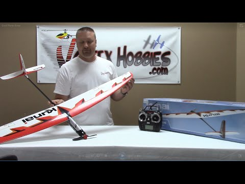 Great Planes Kunai - Powered Glider Review & Test Flight