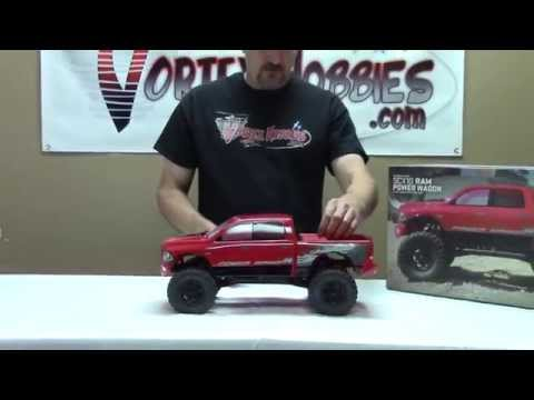 Axial SCX10 Ram Power Wagon - Closer Look & Running