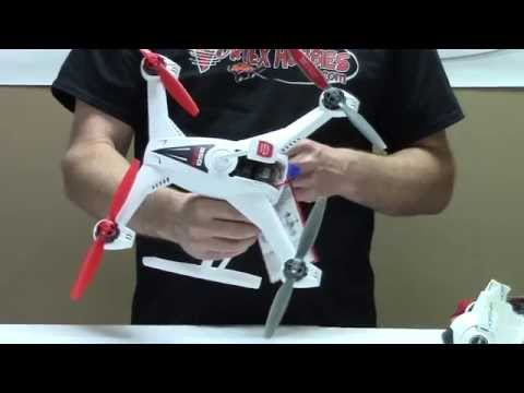 Blade 350 QX3 AP Combo Box Opening and Flight Video