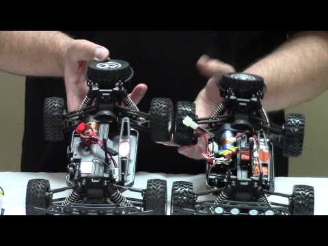 Dromida DT4.18BL Brushless Closer Look and Driving Video