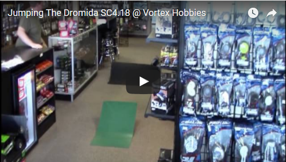 Jumping The Dromida SC4.18 @ Vortex Hobbies