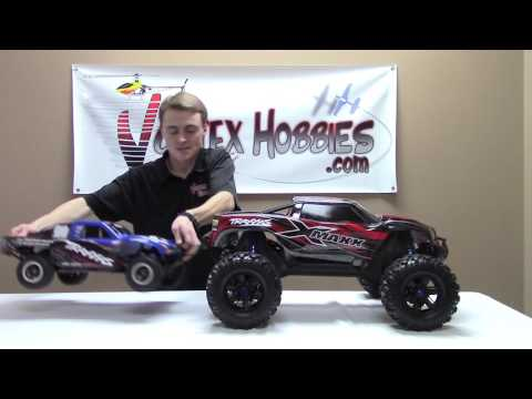 Traxxas X-Maxx Closer Look and Driving Video