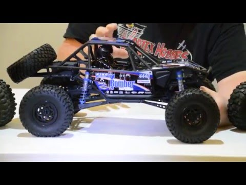 Axial RR10 Bomber Review and Running Video