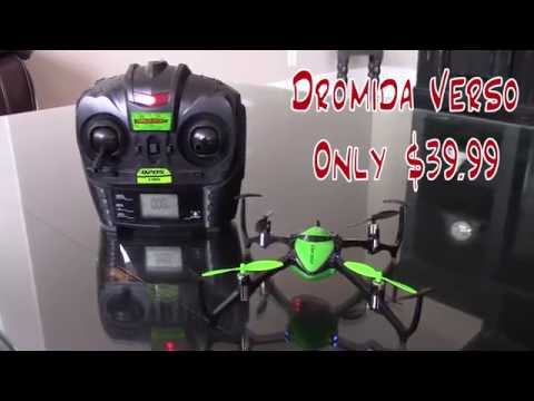 Dromida Verso - If you like flying, this is the quad for you!