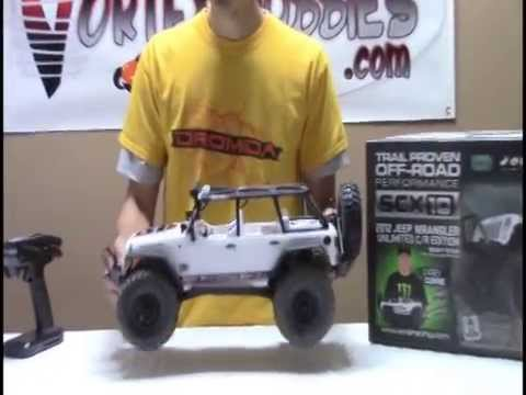 Axial SCX10 Jeep Wrangler Unlimited C/R Edition Review